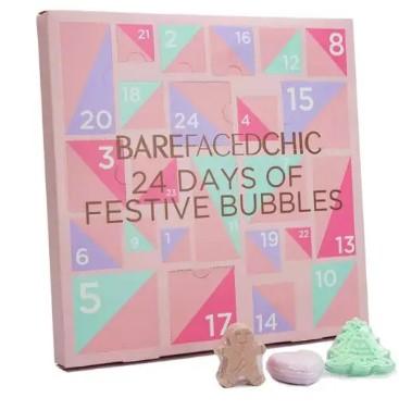 calendario de adviento maquillaje BaredFaceChic 2020 en 2021 calendarios de adviento maquillaje outlet