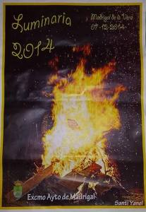 Cartel Luminarias 2014