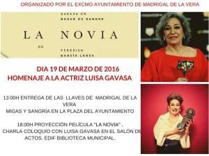 Homenaje a Luisa Gavasa