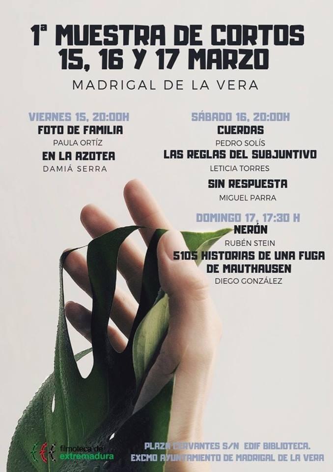 I Muestra de cortos - Marzo-2019