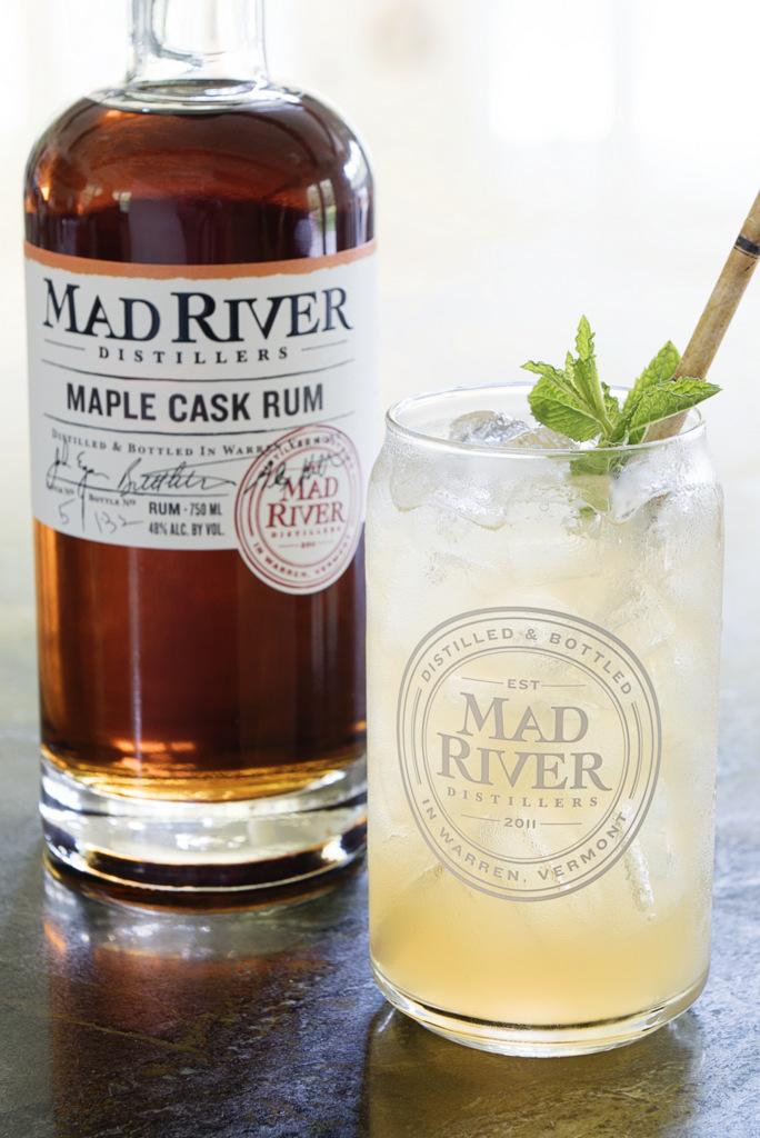 Maple Mojito  Mad River Distillers