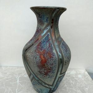 Classic Raku Medium  Vase
