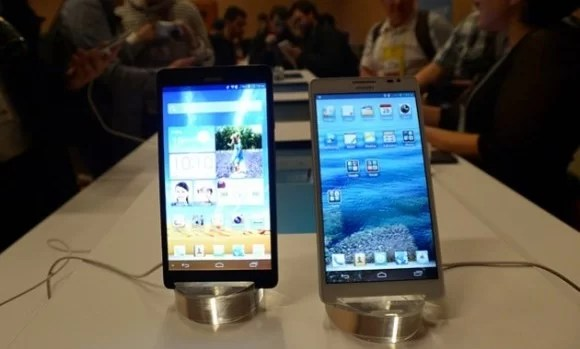 Huawei Unveils 6-inch Phablet at CES 2013