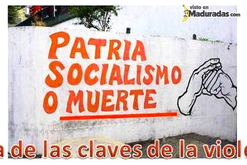 Violencia en Venezuela Patria socialismo o muerte