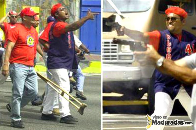 Colectivos armados. violencia en Venezuela