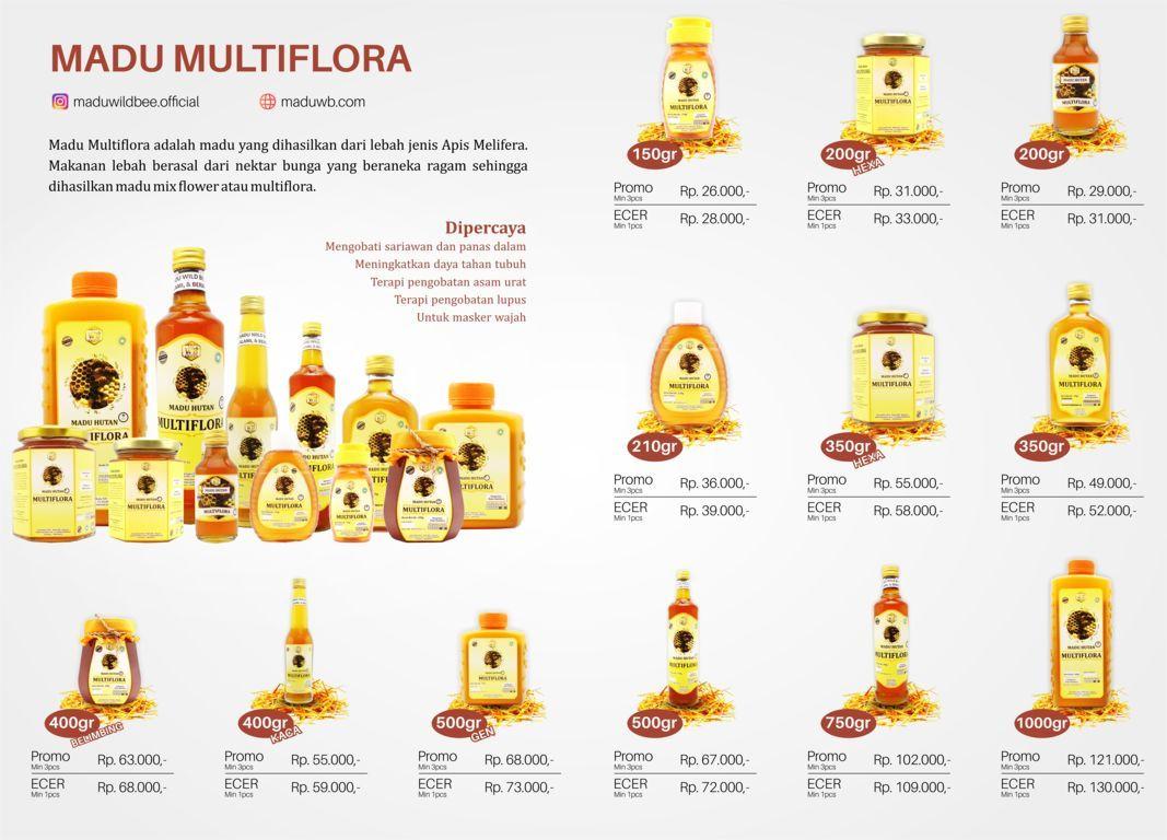 katalog madu wild bee