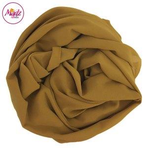 Madz Fashionz UK: Long Maxi Plain Chiffon Mustard Muslim Hijabs Scarves Shawls