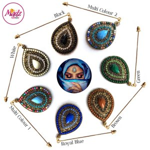 Madz Fashionz USA: Beautydosage Hijab Pin Hijab Jewels Stick Pins Gold
