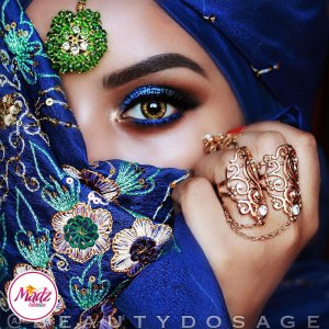 Madz Fashionz UK: Beautydosage Jeeshan Zohra Maang Tikka Headpiece
