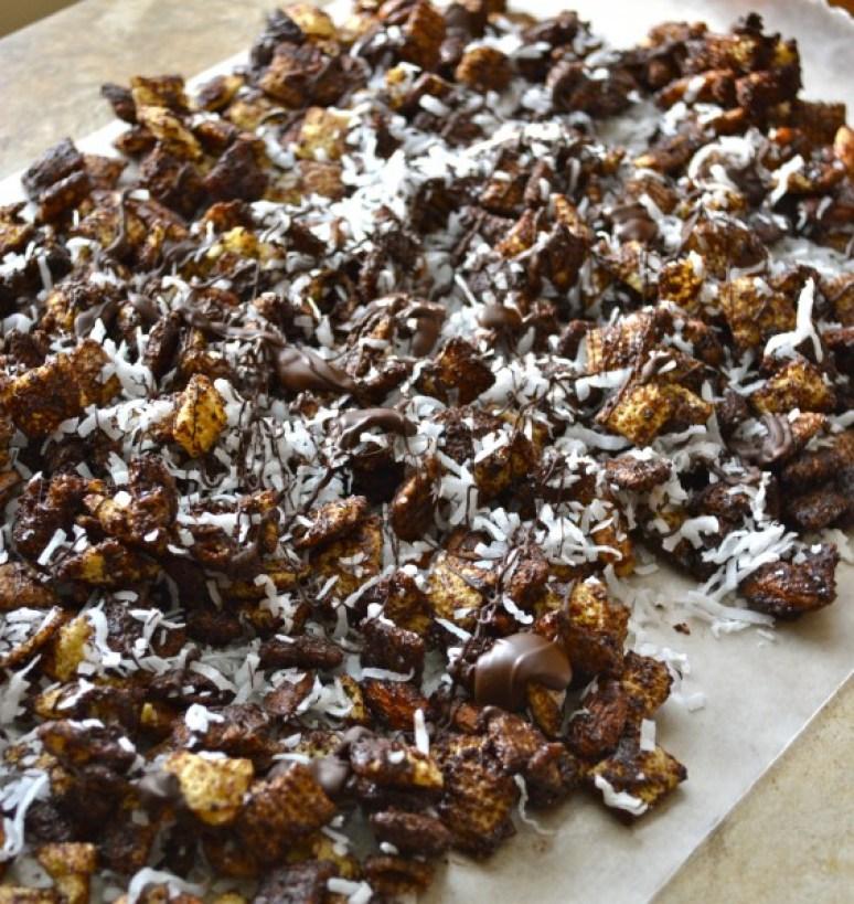 Coconut Mocha Snack Mix