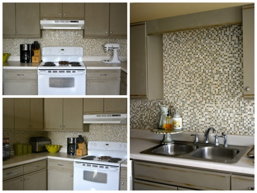 Finished Backsplash