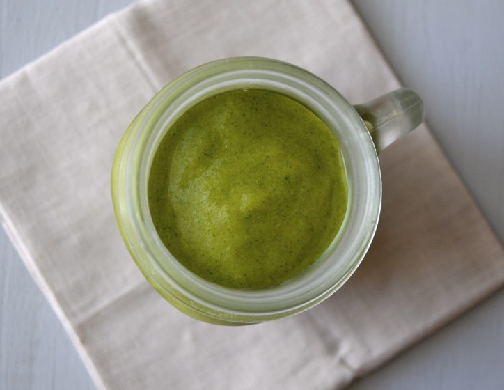 Peach Mango Green Smoothie