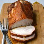 Smoked Pork Tenderloin with Savory Rub