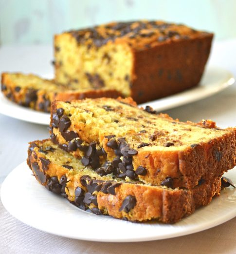 Chocolate Chip Cookie Bread (gluten free)