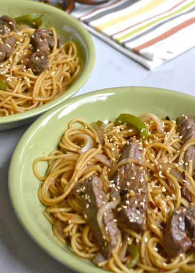 Steak Lo Mein