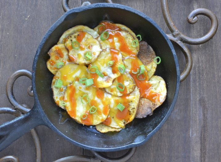 Spicy Homemade Buffalo Chips