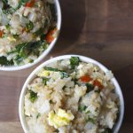 Kale and Red Pepper Fried Rice