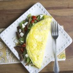 Steak & Feta Power Omelet