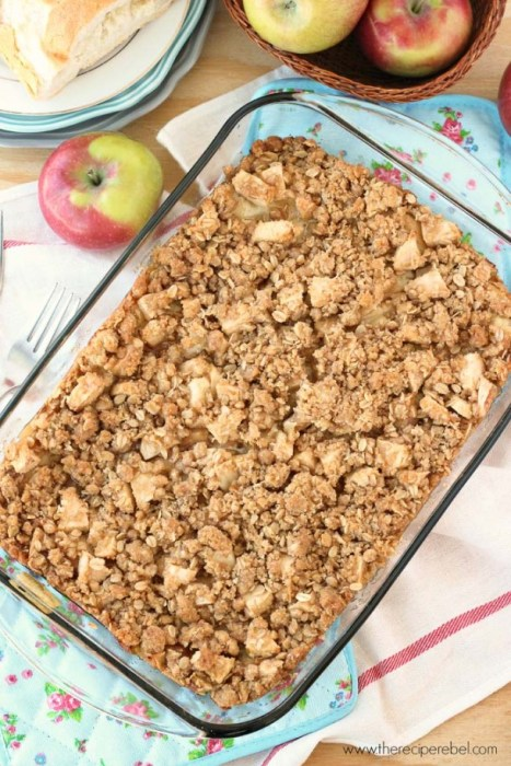 Overnight Apple Crisp French Toast