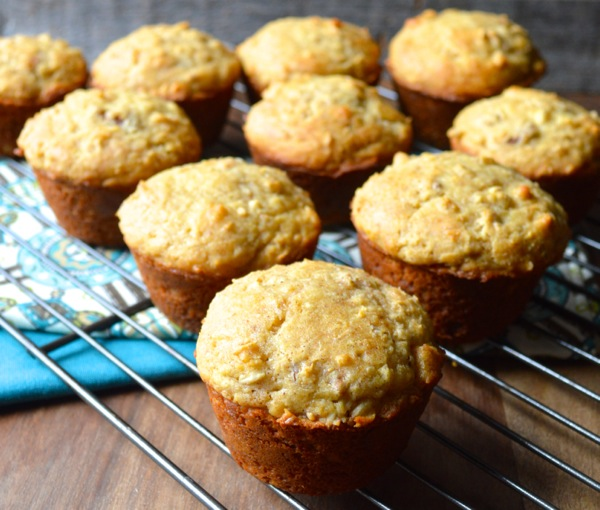 Honey Pecan Muffins are the perfect breakfast and totally gluten free! #honeyforholidays www.maebells.com