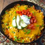One Pan Enchiladas