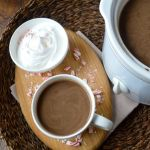 Slow Cooker Peppermint Mocha Cocoa