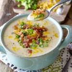 Cheesy Potato Soup (30 Minutes + One Pot)