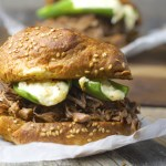 Shredded Beef and Jalapeno Popper Burgers