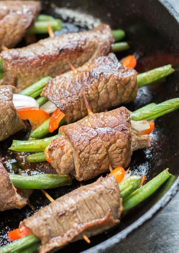Keto Steak Rolls (low carb + gluten free)