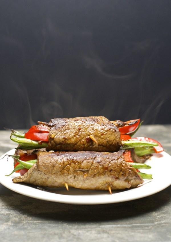 Keto Steak Rolls