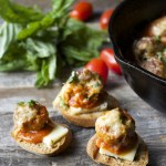Caraway Havarti Smothered Meatballs and Marinara