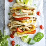 Jalapeño Lime Chicken Fajitas