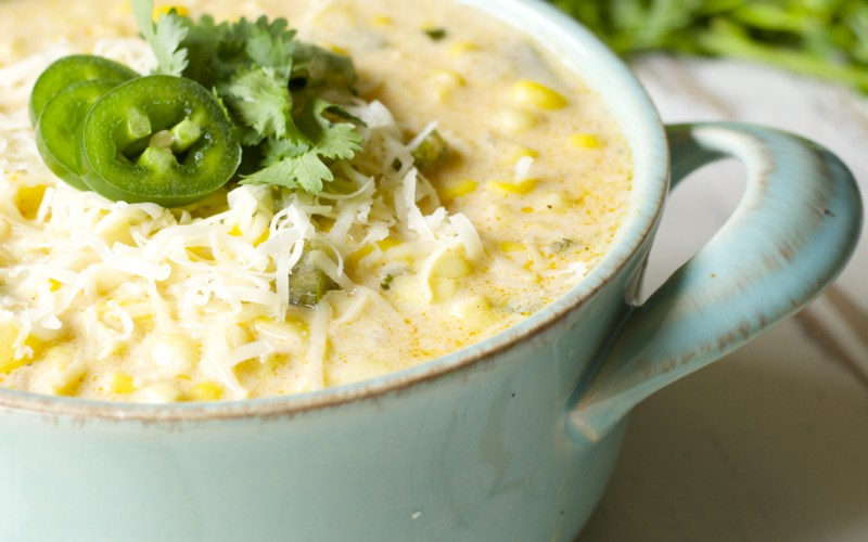 The Ultimate Sweet Corn Chowder! Seriously the best and easiest chowder you will ever have!