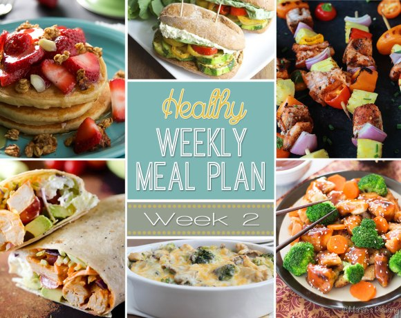 Healthy Meal Plan: Week Two