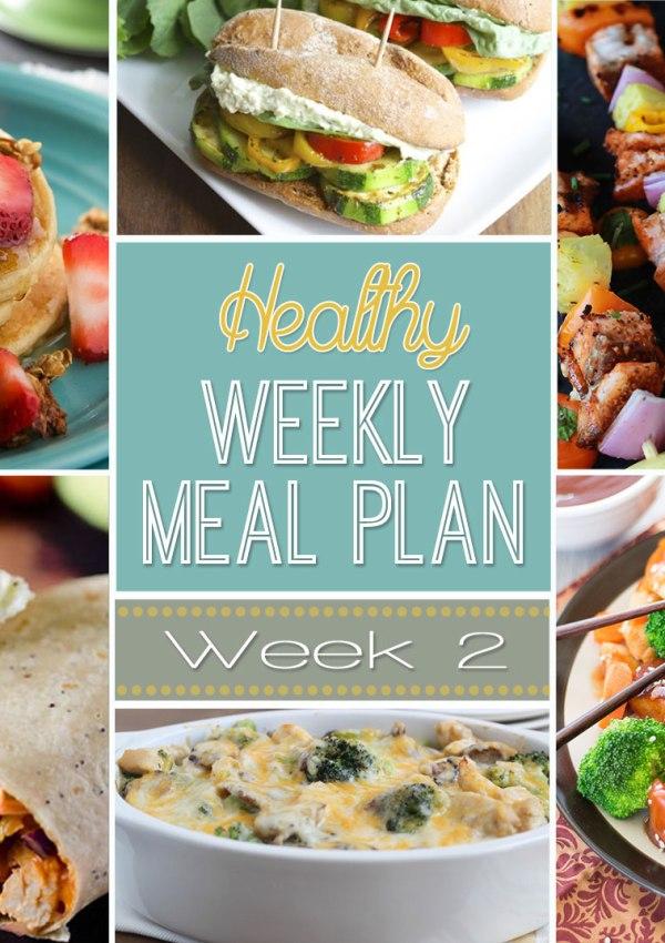 Healthy Meal Plan: Week Two