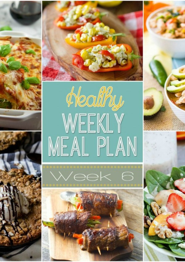 Healthy Meal Plan: Week Six