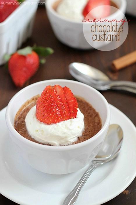 Skinny Chocolate Custard