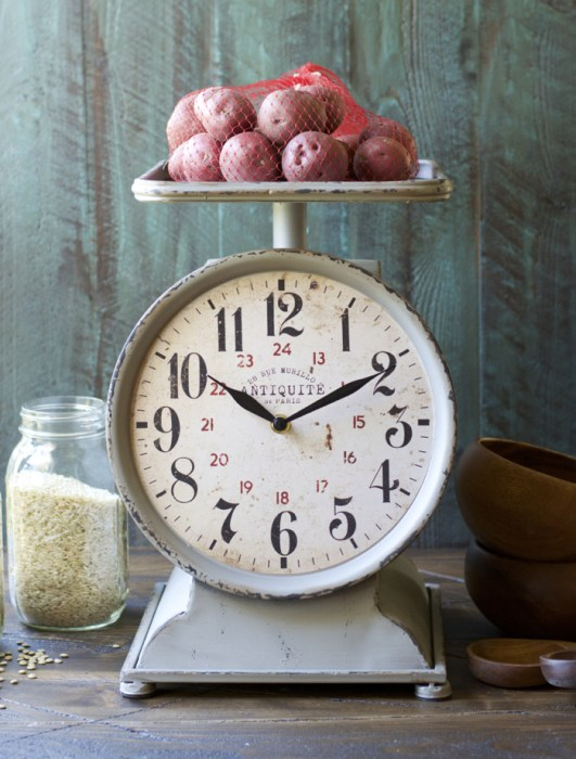 Grocery Scale Clock