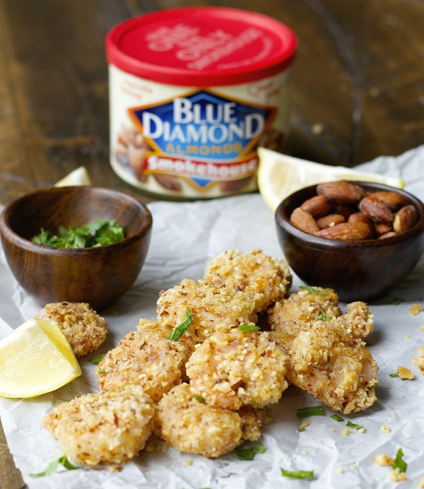 Smokehouse Popcorn Shrimp are the perfect crispy, crunchy irresistible snack for a lighter game day treat!