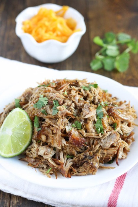 Crock Pot Pork Carnitas