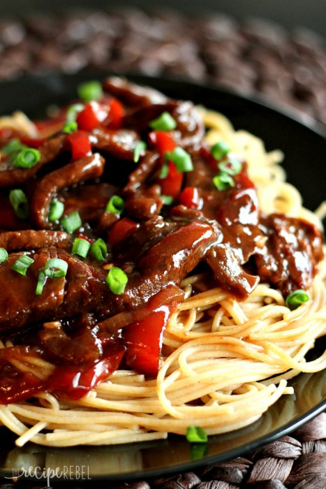 Super Easy Slow Cooker Mongolian Beef!
