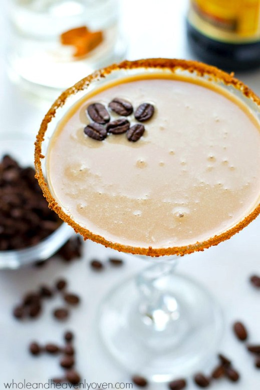 5 Ingredient Chocolate Caramel Espresso Martini