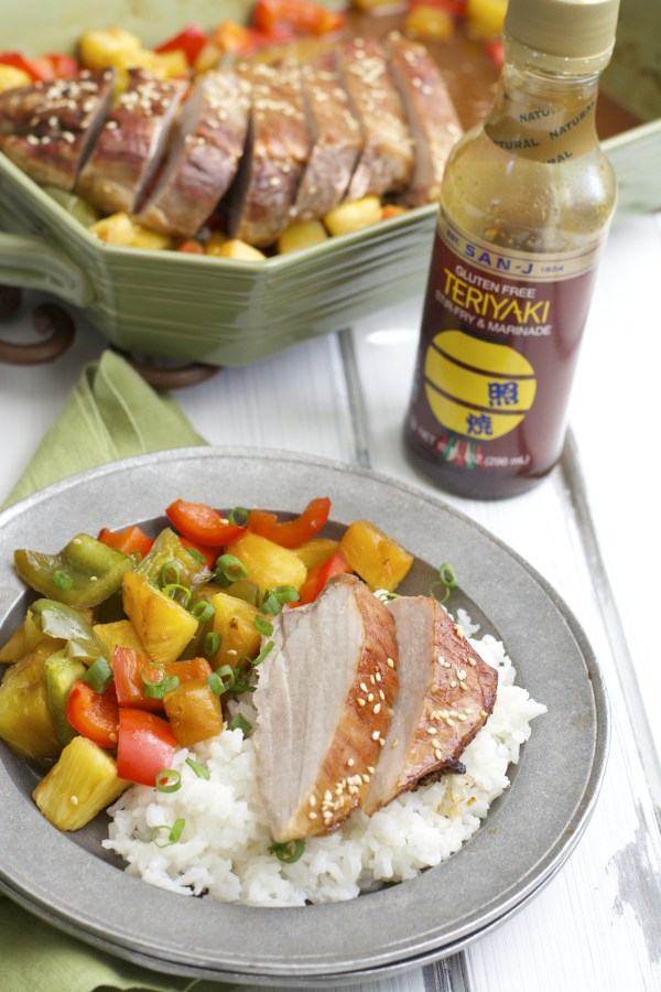 This five ingredient Teriyaki Pork with Pineapple and Peppers is packed with flavor and very easy to prepare!