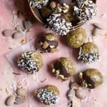 Coconut Mocha Almond Butter Espresso Balls