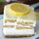 Lemon Icebox Cake + Video