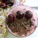 Chocolate Cherry Smoothie Bowls