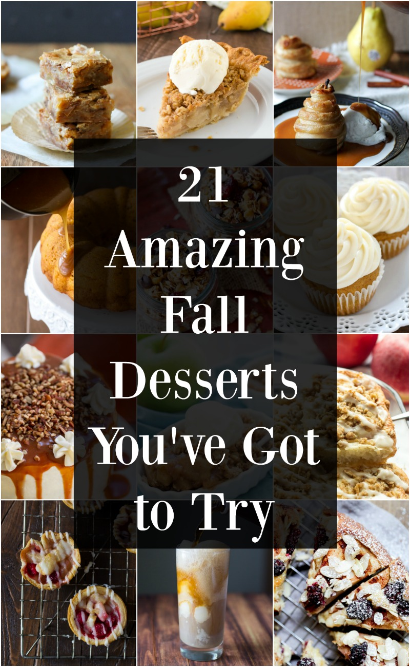 21 Easy Fall Desserts You Ve Got To Try Maebells