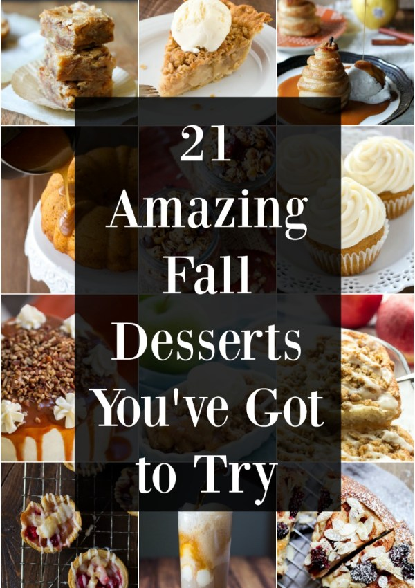 21 Easy Fall Desserts You've Got to Try