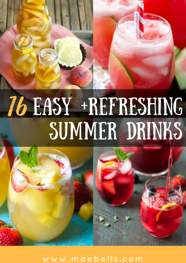 16 Refreshing Summer Drinks You Can't Live Without