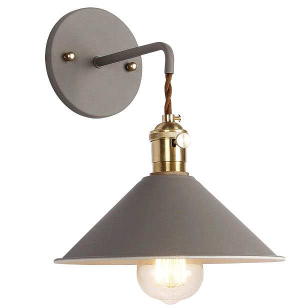 The Best Farmhouse Sconces under $50 on Amazon! Affordable #farmhouse style lighting you will love! #DIY #Fixerupper